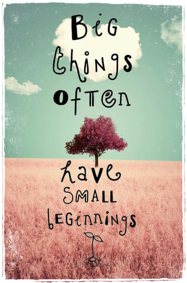 big things quote